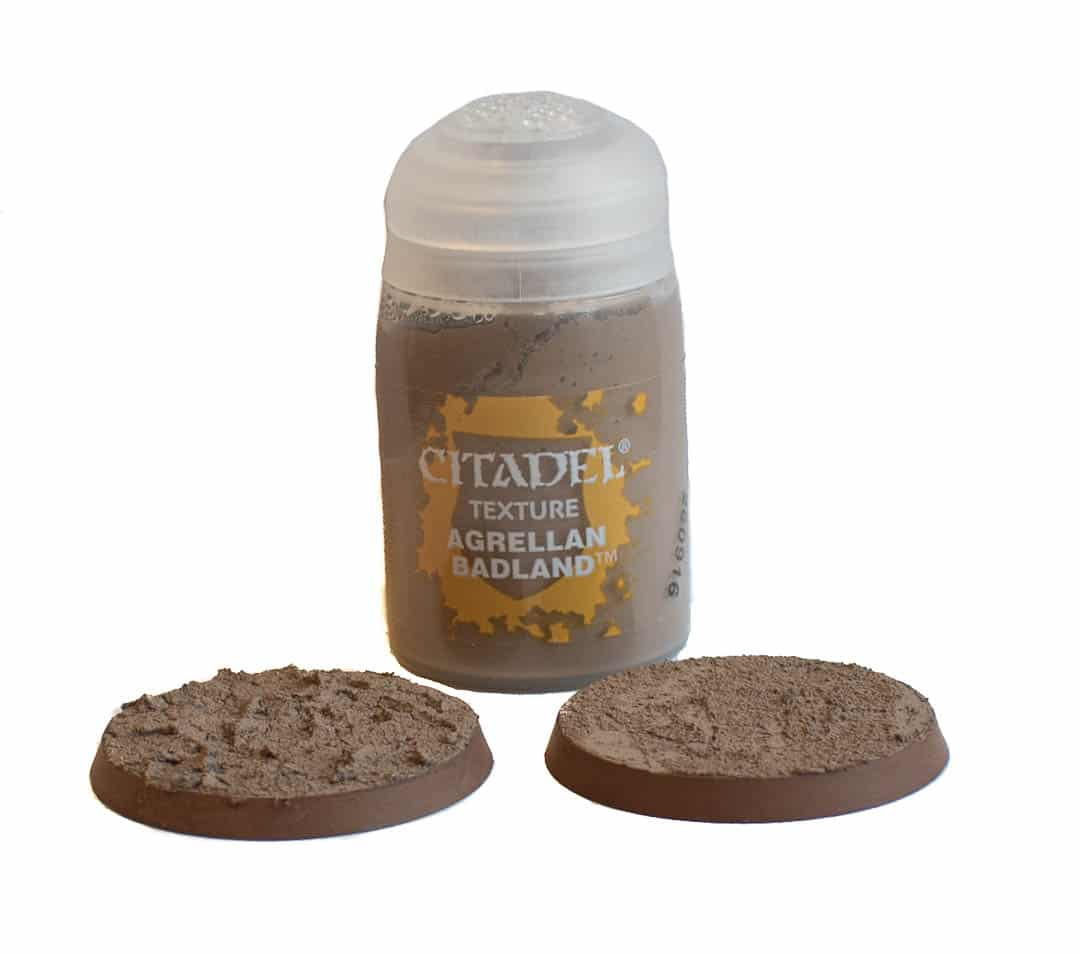 Image of Agrellan Badland Citadel texture paint when dry