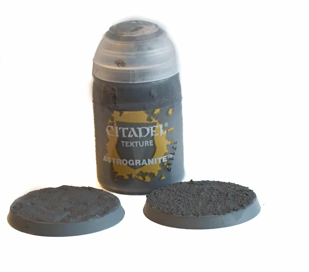 Image of Astrogranite Citadel texture paint when dry