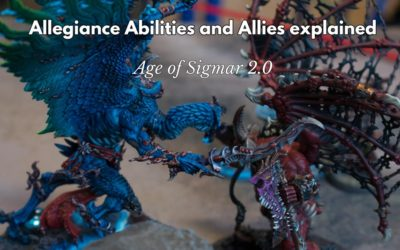 What is Allegiance abilities and Allies in Age of Sigmar 2.0?