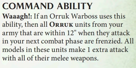 This is how Command points work in Age of Sigmar 2.0 1