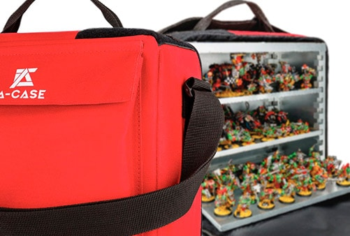 A picture of A-case a magnetic carrying solution for warhammer