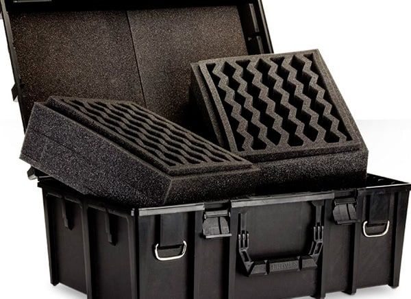 A picture of Games Workshop foam carry case