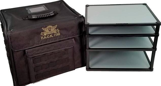 Battlefoam Magna rack magnetic carry case for warhammer