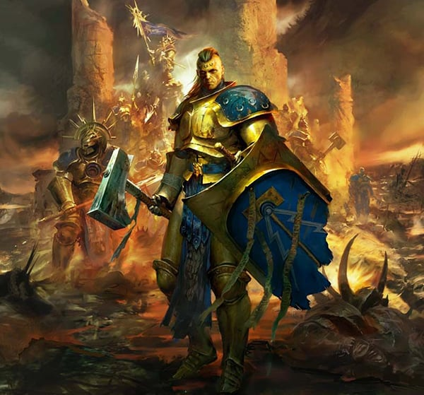 A battered stormcast eternals (Age of Sigmar 2.0 edition)