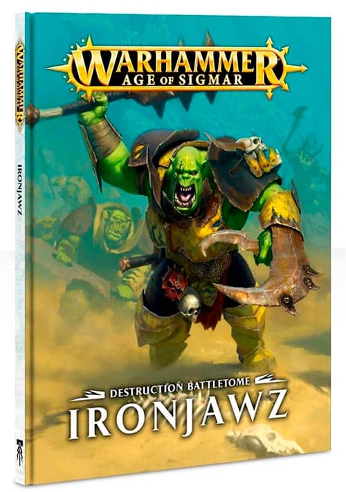 Battletome for the Ironjawz