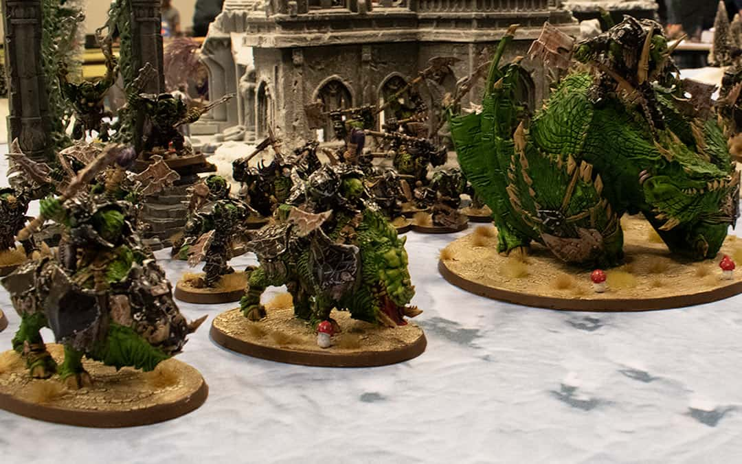 A picture of my own Ironjawz army