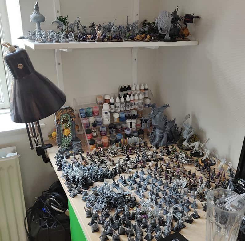 A picture of my ongoing gloomspite gitz army...