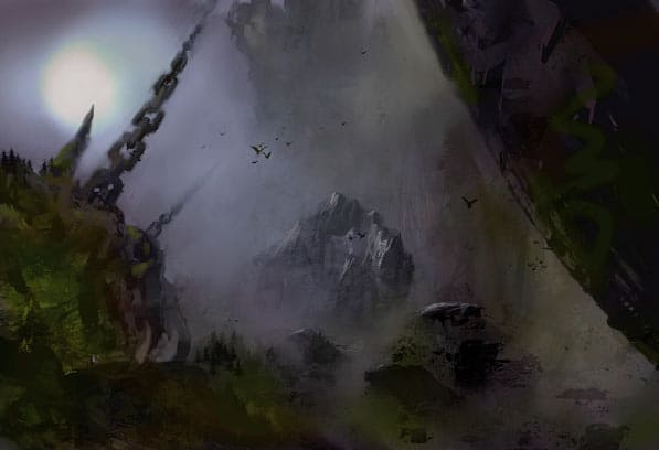 Some sort of... stuf from Ulgu, the Realm of Shadow. The image is used as part of a rundown of the artefacts in Malign Sorcery.