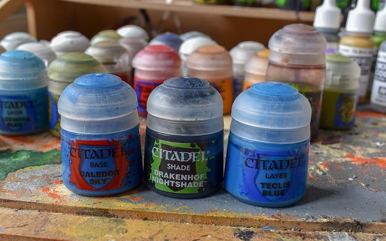 Citadel set to paint blue