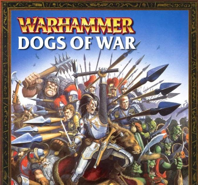 The old Dogs of War armybook for the Oldhammer Warhammer: Fantasy