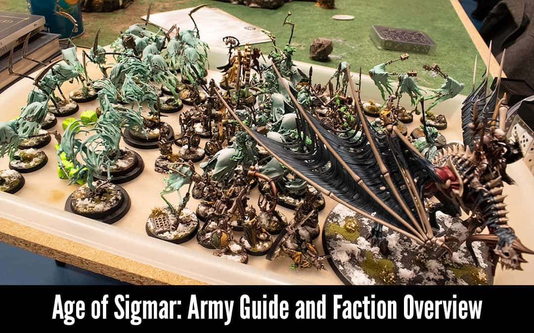 Age of Sigmar Armies Guide: a Faction and Race Overview 1