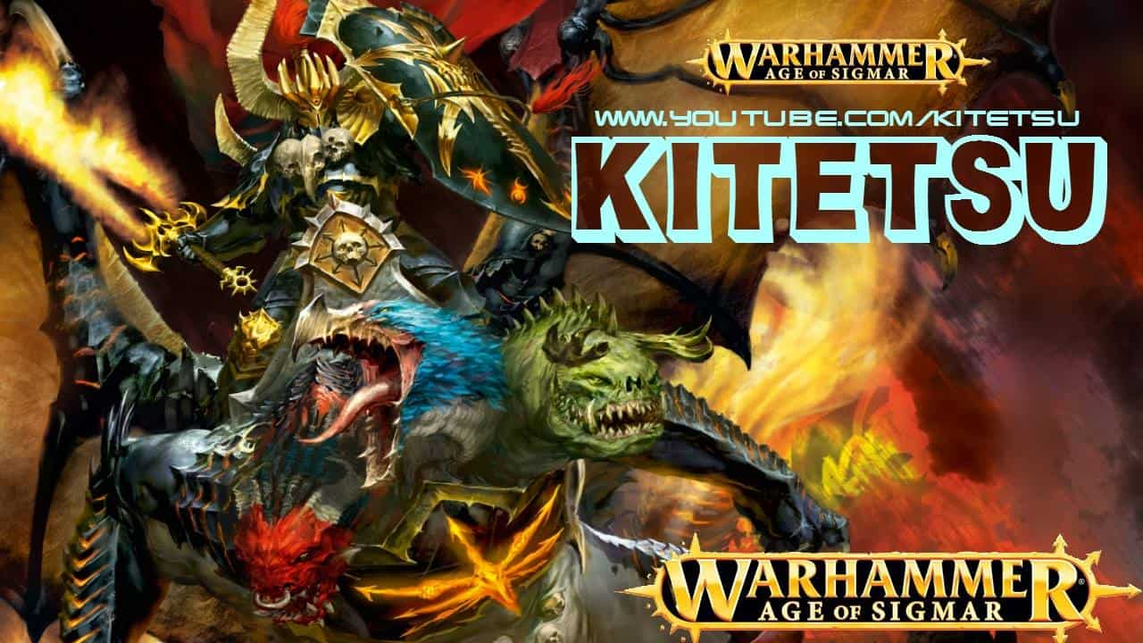 A picture from Kitetsu youtubes channel. He does purely Age of Sigmar News and reviews