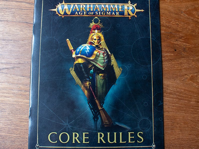 Core rules for Age of Sigmar