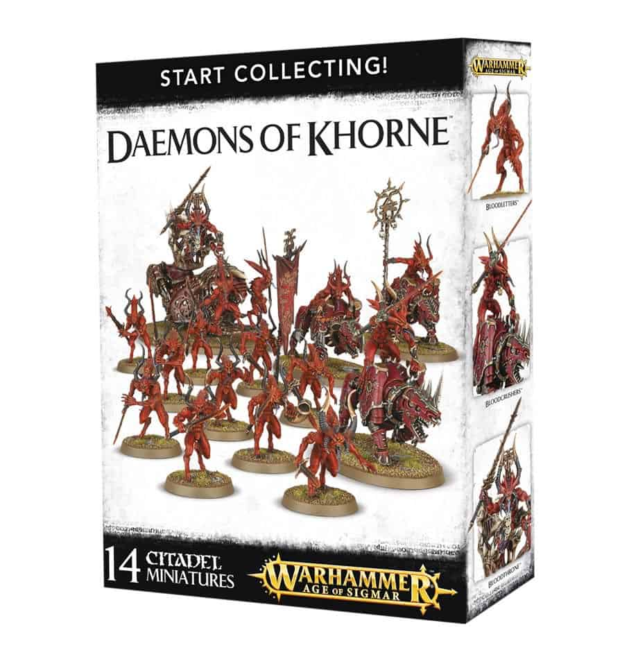 Review of Start Collecting box for Daemons of Khorne