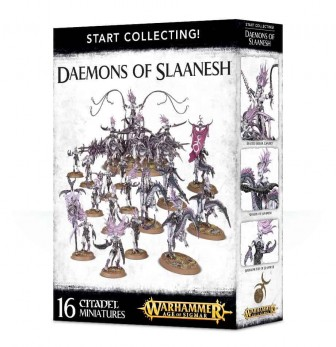 Daemons of Slaanesh Start Collecting