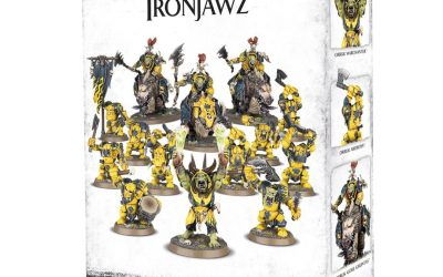 Review of Start Collecting Ironjawz (in Orruk Warclans)
