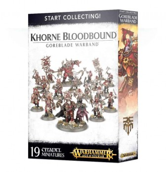 Khorne Bloodbound Goreblade Start Collecting
