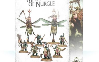 Review of the Start Collecting box for Maggotkin of Nurgle