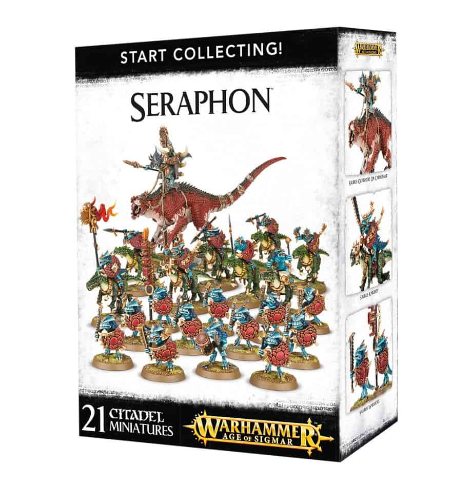 The Start Collecting Seraphon box