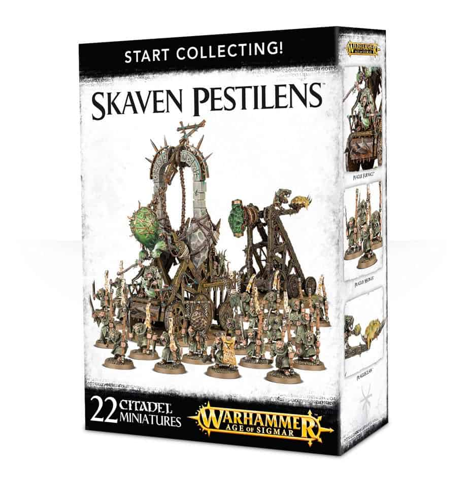 A picture of the Age of Sigmar Start Collecting box for Skaven Pestilens