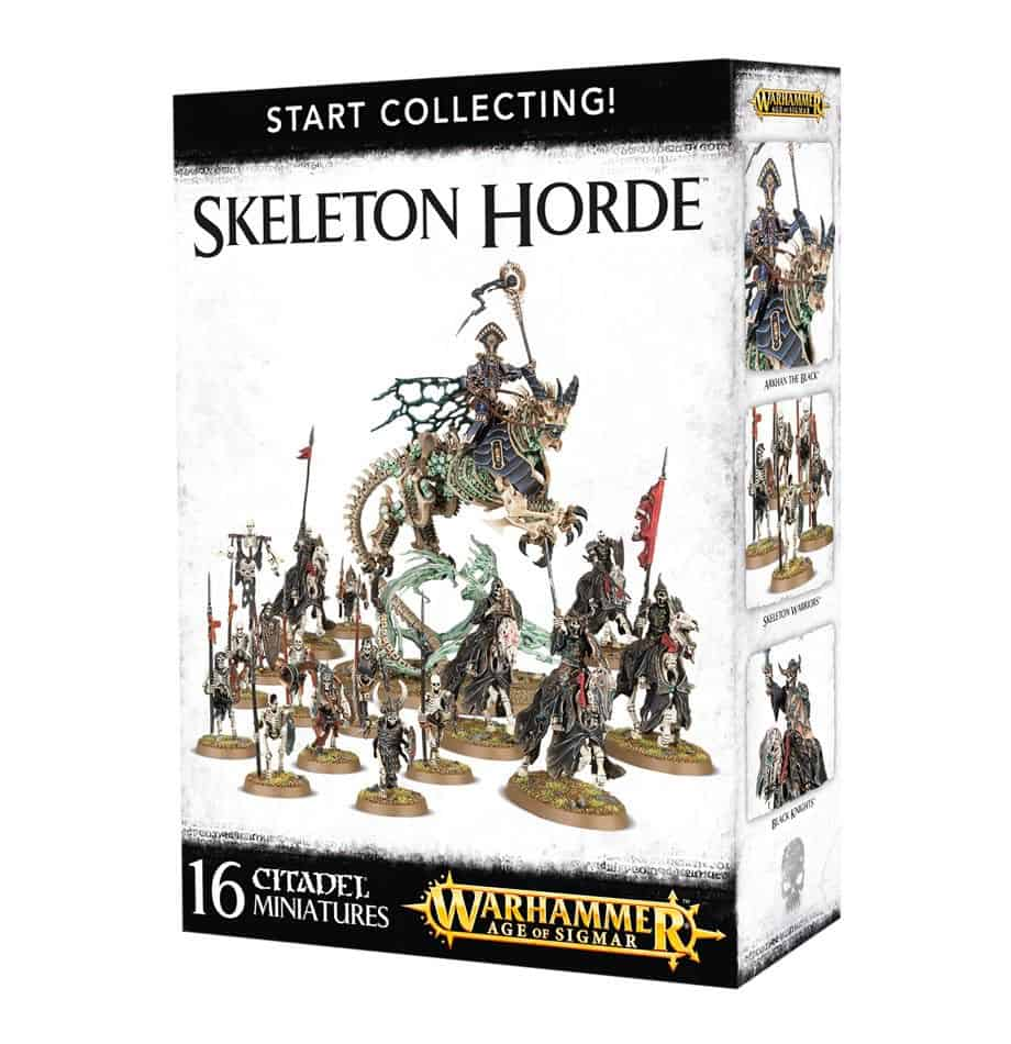 A picture of the Age of Sigmar Start Collecting box for Skeleton Horde