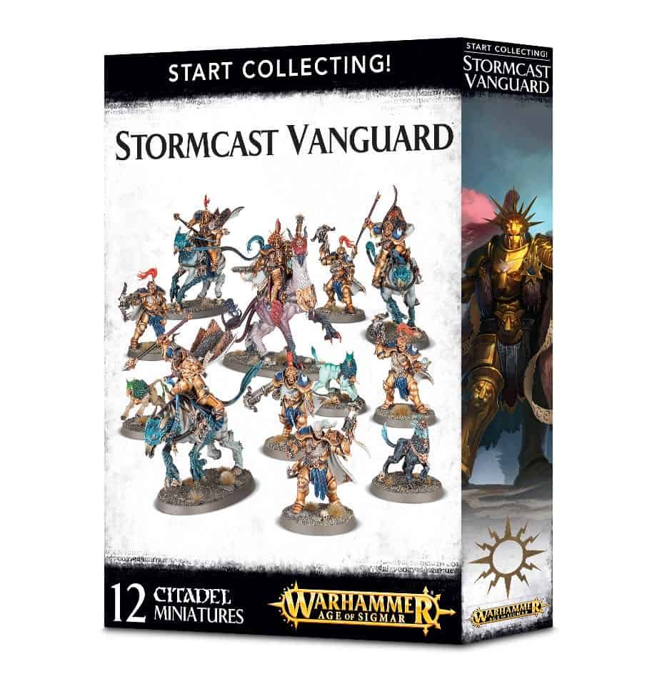 The Start Collecting Vanguard for the Stormcast Eterenals Age of Sigmar