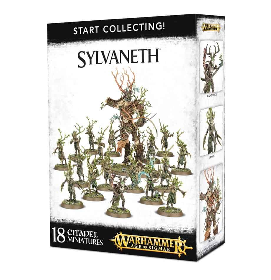 A picture of the Age of Sigmar Start Collecting box for Sylvaneth