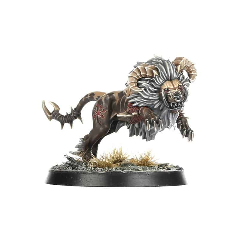 The Rocktusk Prowler Miniature for the Untamed Beasts Warband in Warcry