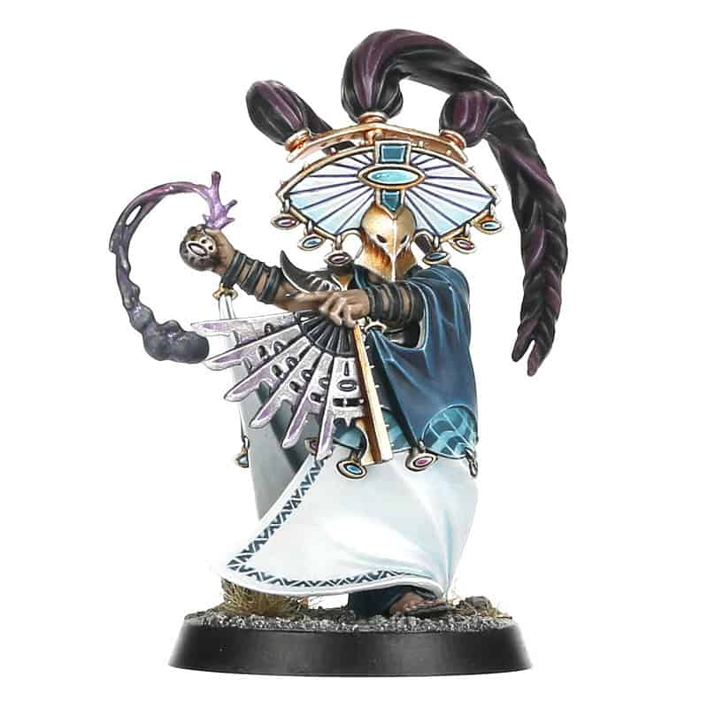 A Miniature for the Cypher Lords Warband in Warcry