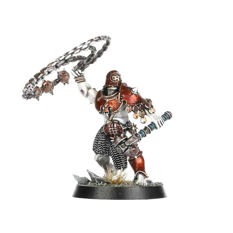 Iron Legionary with Bolas for the Iron Golems Warcry Warband