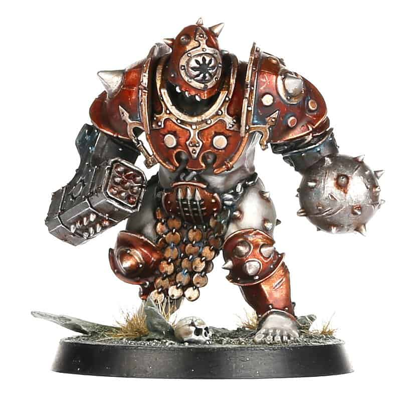 Ogor Breacher Miniature for the Iron Golem Warband in Warcry