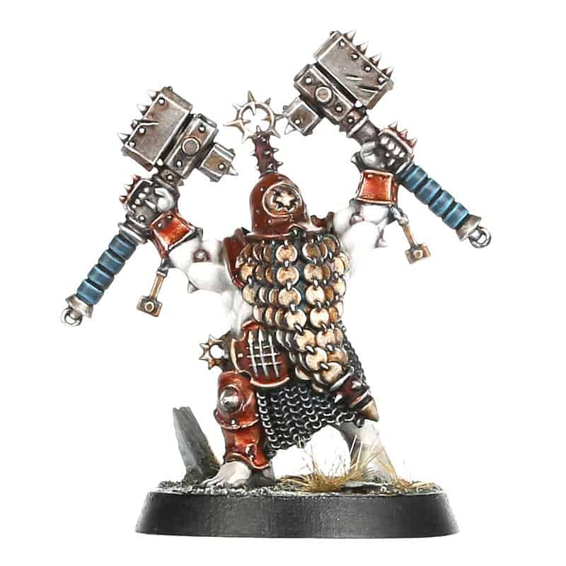 Armator for the Iron Golems Warcry Warband