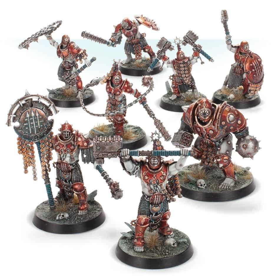 The Iron Golem Warband for Warcry found in the starter set