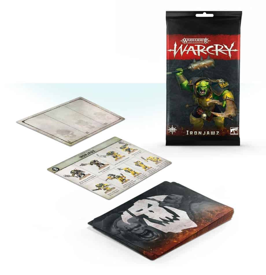 Ironjawz Faction Cards Warcry