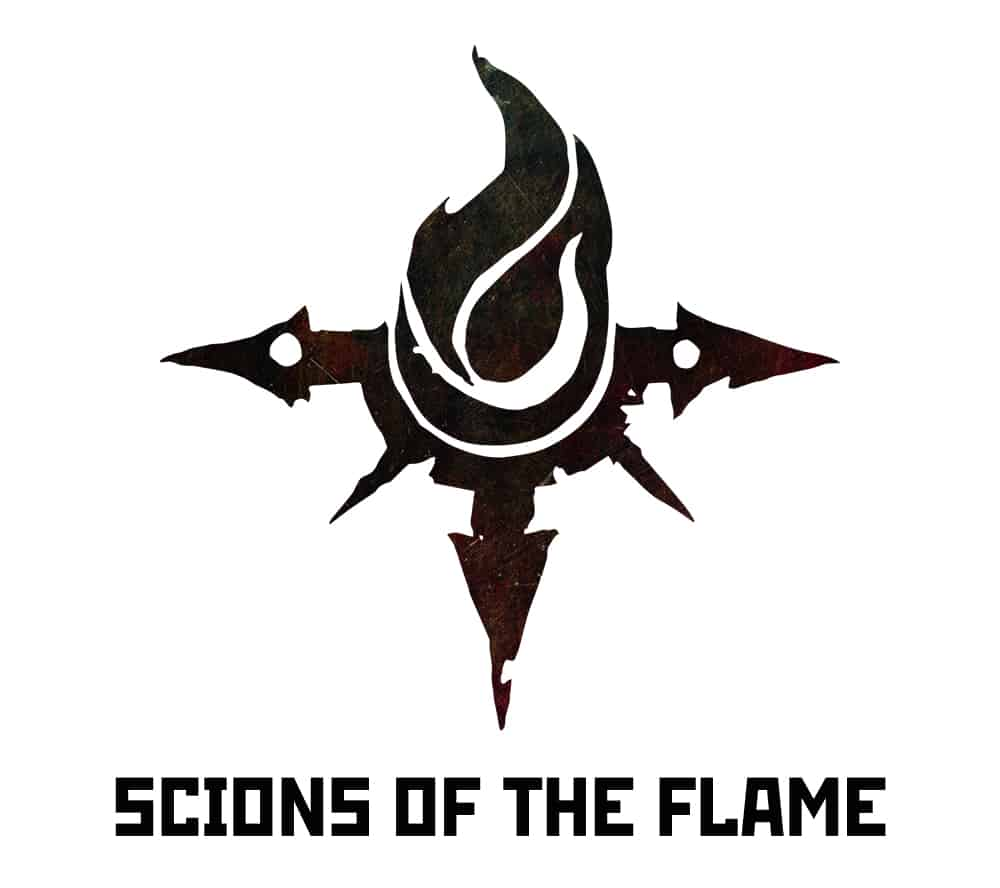 Scions of the Flame Warband Logo