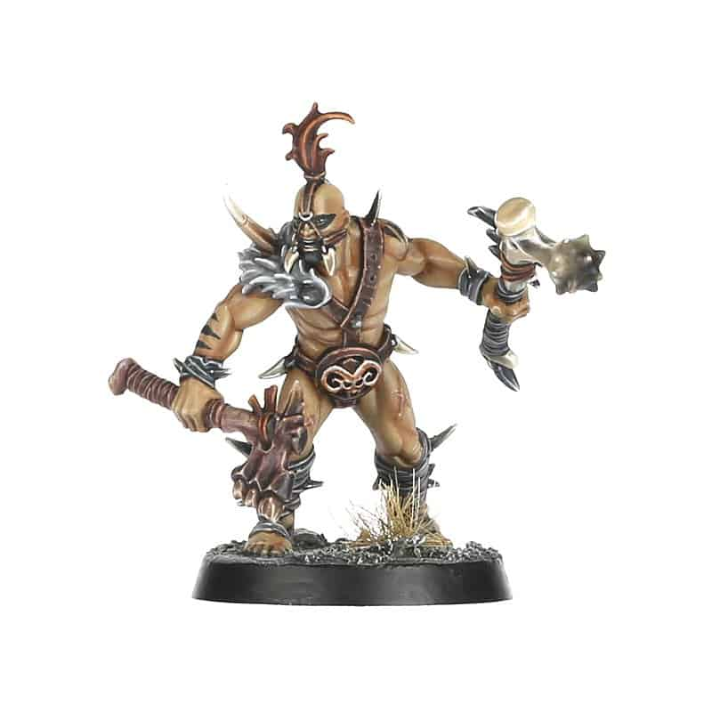 A Plains-runner for the Untamed Beasts Warcry Warband