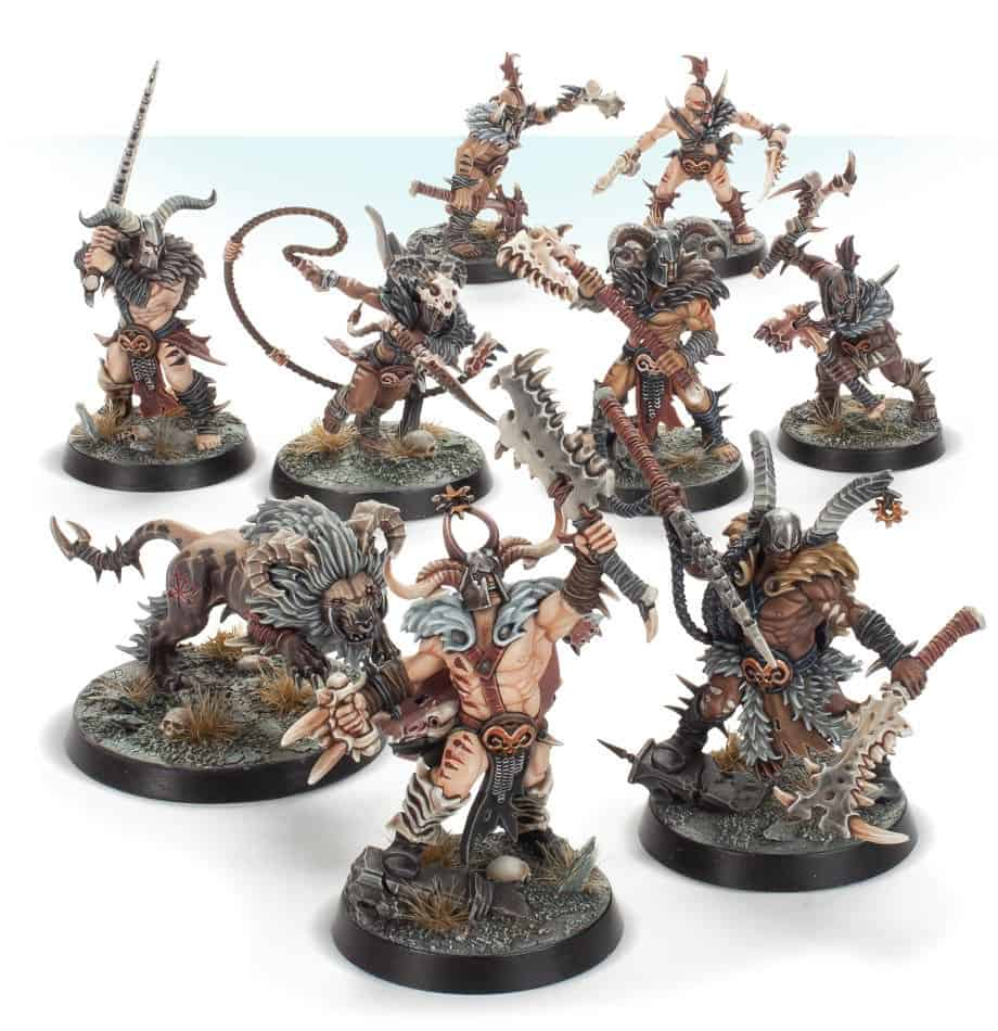 The Untamed Beast Warband for Warcry found in the Warcry Starter set and can be bought separately