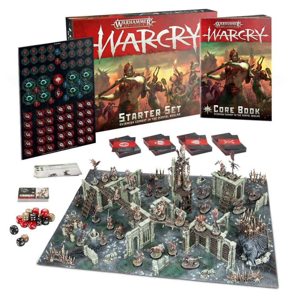 This is the Warcry Starter set that I touch upon in my Warcry Review