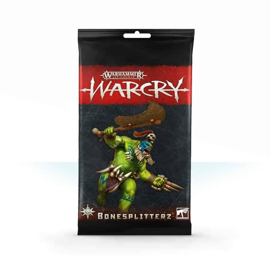 Bonesplitterz Card Pack for Warcry