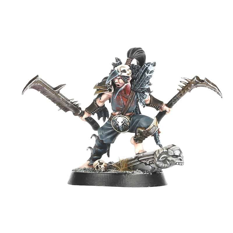 Spire Stalker for the Corvus Cabal Warcry Warband