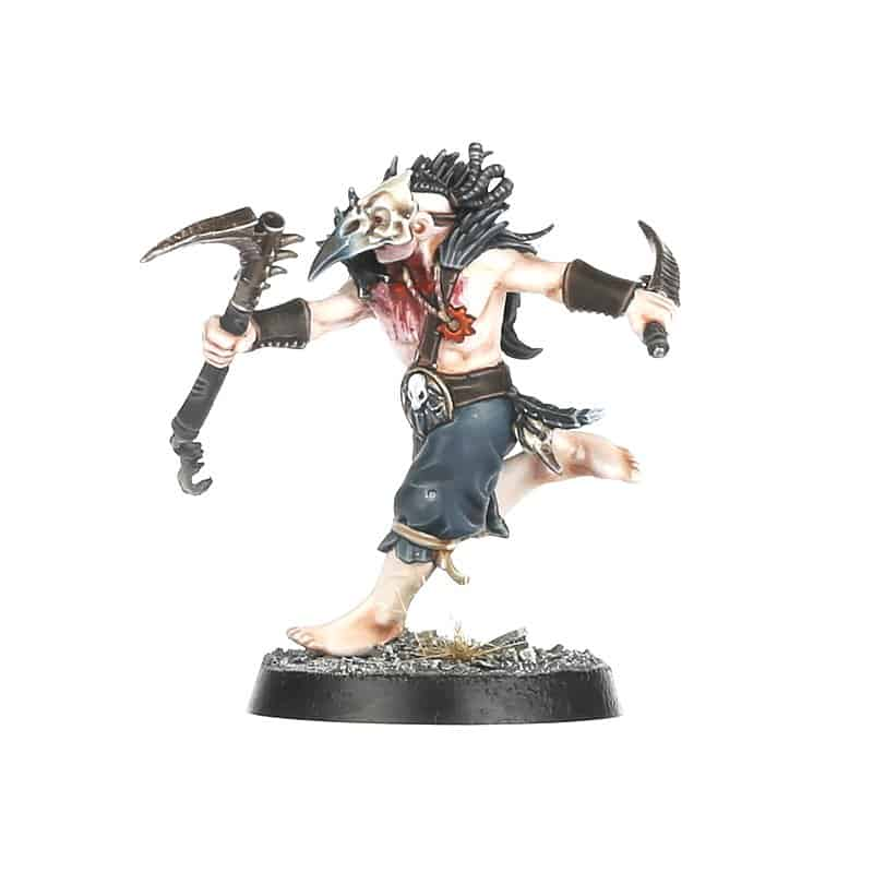 Cabalist for the Corvus Cabal Warcry Warband
