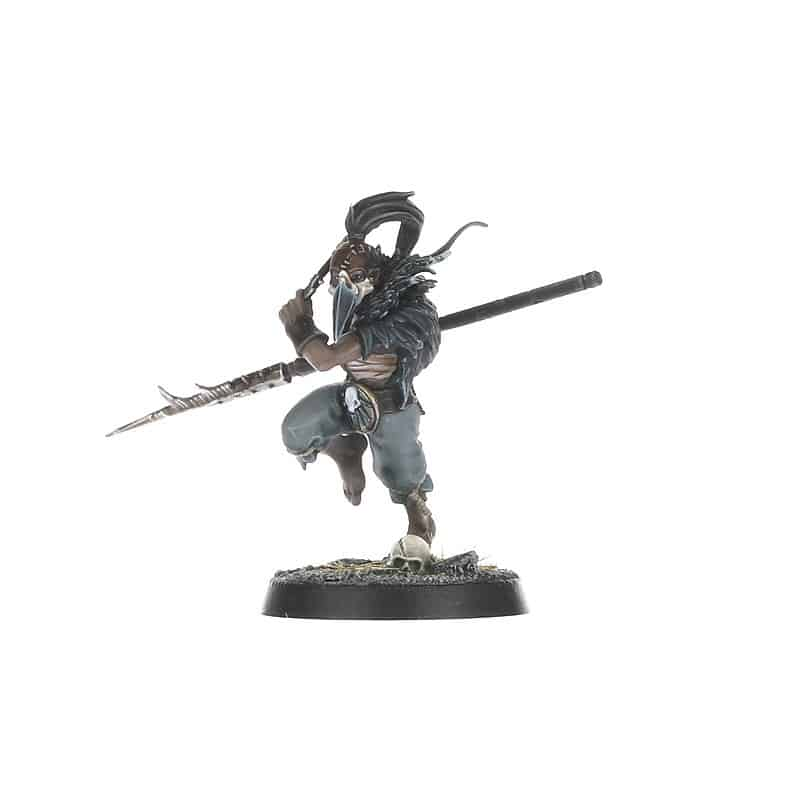 Drillmaster Miniature for the Iron Golem Warband in Warcry