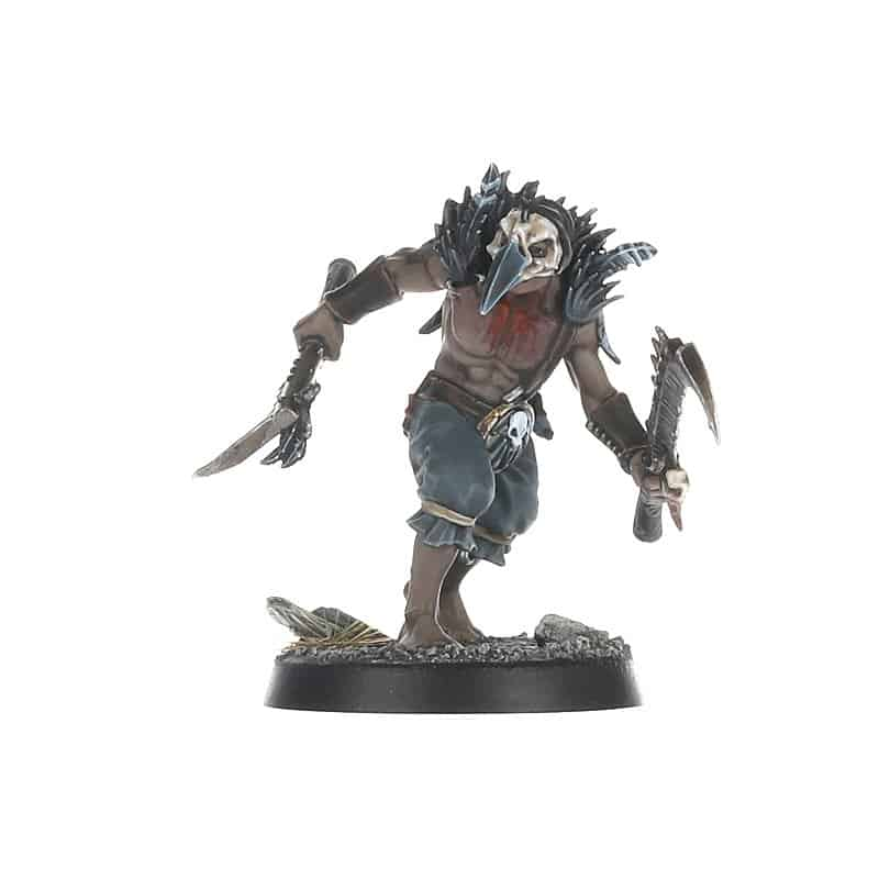 Armator for the Iron Golem Warband in Warcry