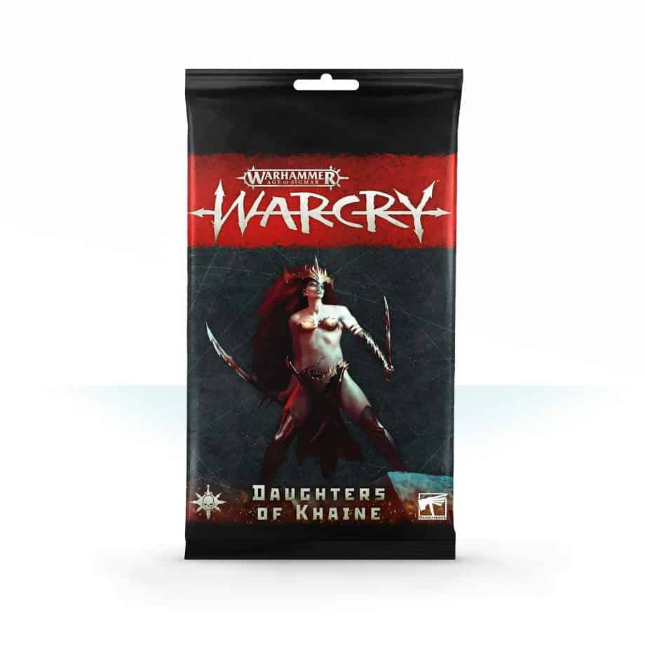 Daughters of Khaine Card Pack for Warcry