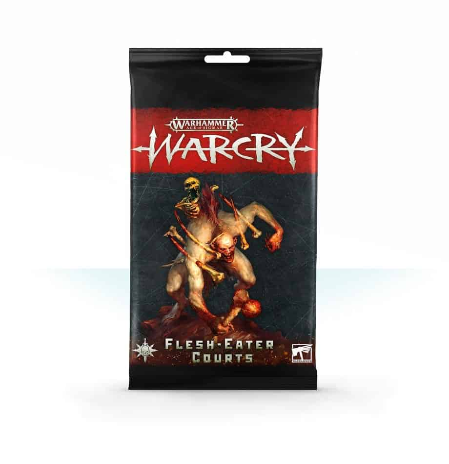 Flesh-Eater Courts Card Pack for Warcry