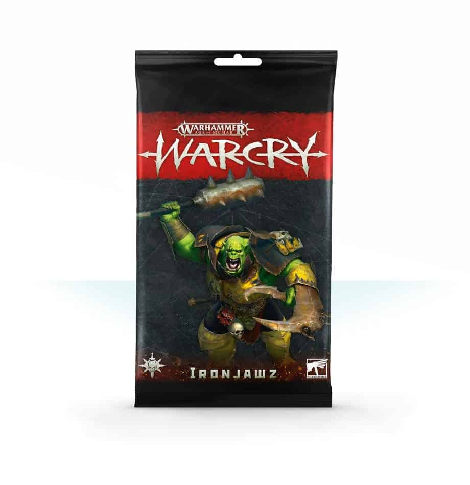 Ironjawz Card Pack for Warcry
