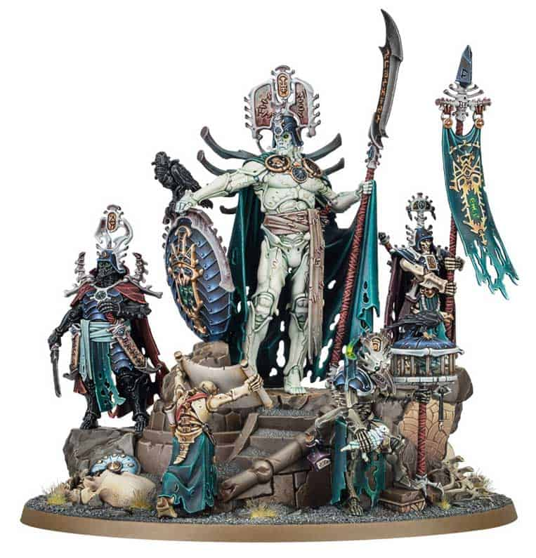 Katakros  in the upcoming Ossiarch Bonereapers Death release for Age of Sigmar