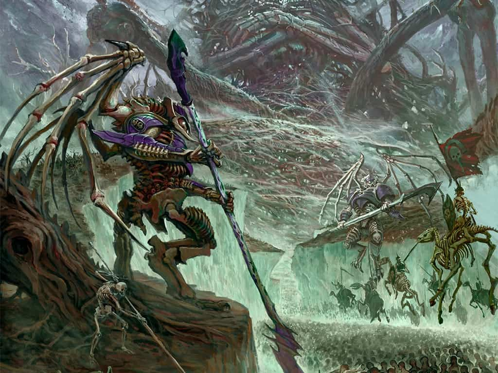Legions of Nagash army marches forward to victory