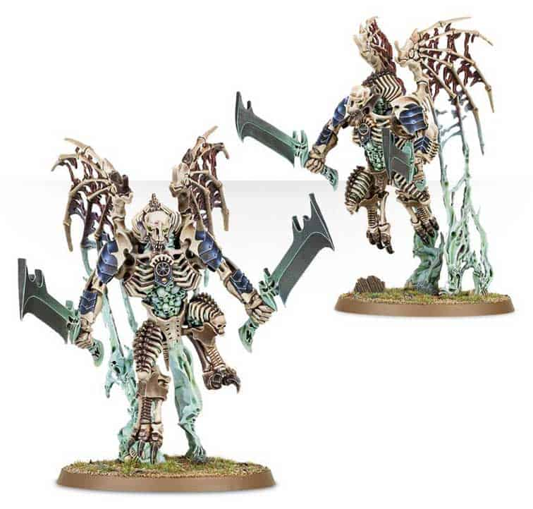 Morghast Harbingers  in the upcoming Ossiarch Bonereapers Death release for Age of Sigmar