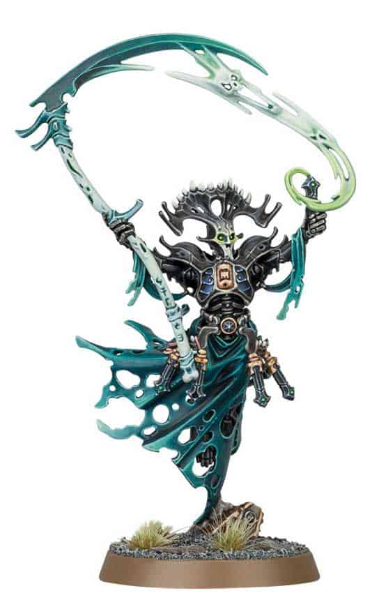 Mortisian Priest  in the upcoming Ossiarch Bonereapers Death release for Age of Sigmar
